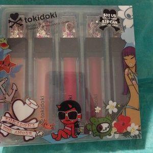 Sephora x Tokidoki 5 Lip Gloss Set New